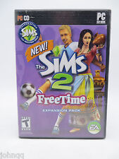 Sims 2: FreeTime Expansion Pack (PC, 2008)
