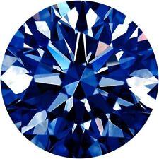 Parcel Natural Super Fine Denim Blue Sapphire Melee - Round - AAAA Grade