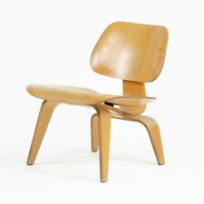 RARE Eames Herman Miller 1951 LCW Lounge Chair Wood Evans Calico Ash