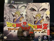 Dragon Ball Z: Budokai 2 (Nintendo GameCube, 2004) - Tested,Working Complete CIB