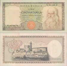 """50.000 lire 1972  """"Leonardo"""""""