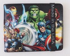 Exclusive MENS MARVEL AVENGERS ASSEMBLE BIFOLD WALLET NWT