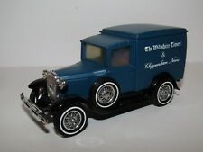 MATCHBOX YESTERYEAR FORD MODEL A VAN THE WILTSHIRE TIMES Y22 CODE 3