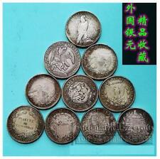 10pcs Old Coin 10枚 外国银元 鹰洋卡洛斯美国日本法国墨西哥 (SOLD)
