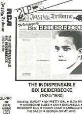 BIX BEIDERBECKE INDISPENSABLE1924-30 CASSETTE DOUBLE PLAY ALBUM JAZZ TRIBUNE 48