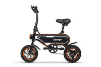 "Sponge E-Bike Folding Electric Bike Bicycle Bike 250W Power 12"" Wheel"