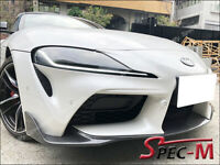 OE Carbon Fiber Front Bumper Splitter Lip CF for Toyota Supra A90 MK5 2019+