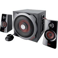 TRUST GXT 38 2.1 Gaming-Lautsprecherset Subwoofer Aktivlautsprecher 120W Speaker
