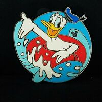 Disney Pin 50531 WDW - Hidden Mickey Collection - Donald Innertube
