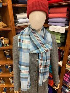 100% New Wool Pashmina | Lochcarron | Made in Scotland | Memorial Tartan | Diana