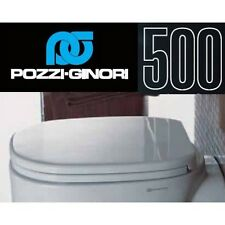 3S COPRI WATER WC ASSE SEDILE SERIE 500 ORIGINALE POZZI GINORI CODICE 41761 NEW