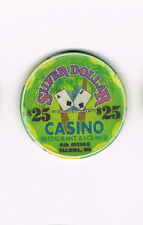 Tacoma WA Washington 6th Avenue Silver Dollar Casino Restaurant $25 Casino Chip