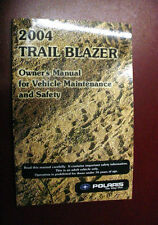 Polaris 2004 Trail Blazer Owner's Manual for Vehicle Maintenance Safety 9918751