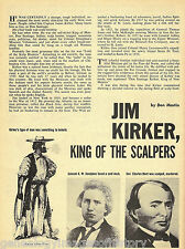 Jim Kirker - King of the Scalpers + Genealogy