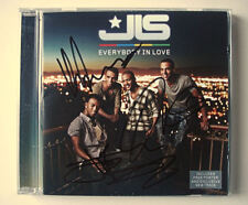 JLS signed CD 'Everybody in Love' - Genuine Autographs - Fully Signed