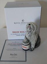 ROYAL DOULTON DULUX DOG FIGURINE CELEBRATING 50 YEARS