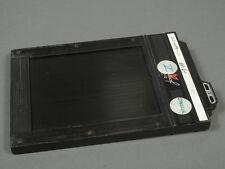 Linhof 9x12cm Doppelplanfilmkassette, guter u. voll funktionsf. Zustand!