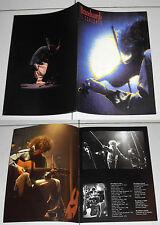 Programma Tour ANGELO BRANDUARDI IL CONCERTO Programm Konzert blu 1995