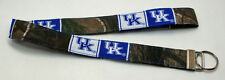 Kentucky University & Real Tree Camo Camouflage Key Chain Ring Lanyard Handmade