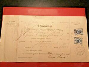 Finland/Russia * Adress card *-8.11.1908 * Otava(Mikkeli)