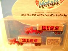 Mini Metals  #51147 RISS HI R-190 Tractor/AeroVan Trailer Sets