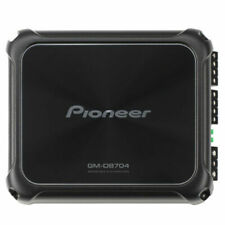 PIONEER GM-D8704 CAR AUDIO 4-CHANNEL BRIDGEABLE AMP AMPLIFIER 1200W MAX POWER