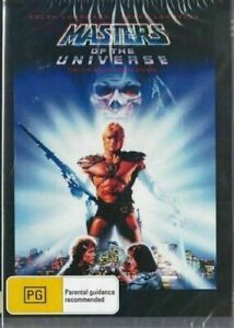 Masters of the Universe DVD Dolph Lundgren New and Sealed Plays Worldwide