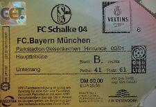 TICKET 2010/01 FC Schalke 04 - Bayern München