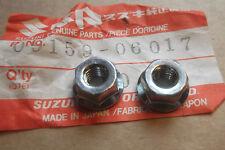 SUZUKI RM125  RM250  RM400  GENUINE NOS CYLINDER BASE NUTS - # 09159-06017