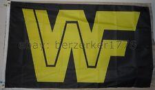 WWF World Wrestling Federation Wrestling 3'x5' flag banner 3 - WCW, WWF, WWE
