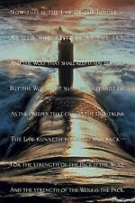 MILITARY POSTER ~ LAW OF THE JUNGLE 24x36 POSTER Navy Wolf Pack Sub NEW/ROLLED!