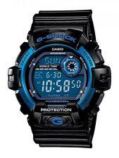 Casio Men G8900A-1 G-Shock Shock Resistant Black/ Blue Resin Digital Sport Watch