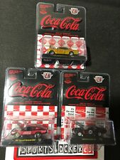New M2 Machines Coca-Cola Release RC02 Hobby Exclusive 1:64 Diecast Cars