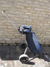 Chariot , sac , 5 clubs golf  , vintage