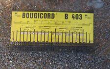 * panneau presentoir de garage cables de bougies bougicord