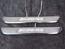Mercedes-Benz AMG Door Sill Plates C-Class W205 E-Class W213 GLC-Class X253/C253
