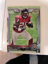 Tevin Coleman 2015 Topps Rookie Card Atlanta Falcons RC 490