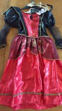 BNWT girls vampiress fancy dress up outfit.(Halloween) 3-4 yrs. Tesco (1/12)