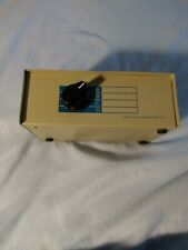 Data switch 4-Port Manual Data Transfer Switch VGA preowned