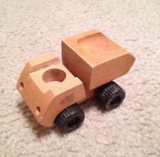 Wooden Early 1970s Toy Dump Truck (Fisher Price Little People???)