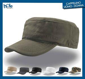 Cappellino Uomo Militare Berretto Caccia Pescatore Cappello da Softair Donna