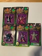 BanDai Power Rangers villans series #2 lot of 5 NEW