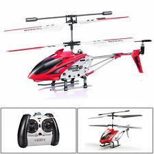 S107G 3 Kanal Radio R/C Ferngesteuerter Hubschrauber Helikopter + Gyro Rot