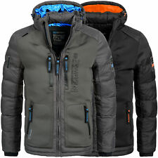 Geographical Norway Jacke Herren Winterjacke Parka Winter Outdoor Ski warm Brevs