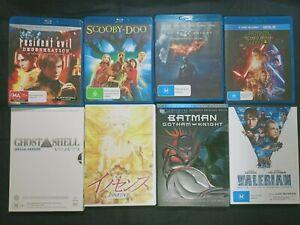 Star Wars Macross Ghost in the Shell Batman Resident Evil 4 Anime Blu-ray DVD