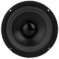 """NEW 5.25"""" MidRange Speaker.Home Audio Replacement.five inch.8ohm.Woofer.5-1/4."""