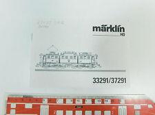 AI493-0,1# Märklin H0 Anweisung E-LOK 33291/37291 - E9199 DRG von 1997
