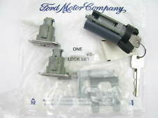 NEW - OEM Ford E6VY-5422050-A Door & Ignition Lock Set 1985-89 Lincoln Town Car