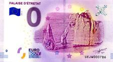 76 ETRETAT Falaise 2, N° de la 8ème liasse, 2018, Billet 0 € Souvenir