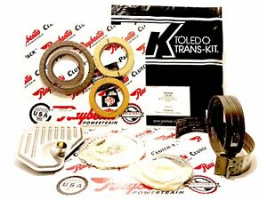 4R70W 4R75W TRANSMISSION Master Rebuild Kit 2004 UP  Clutches & 2 Lined Bands